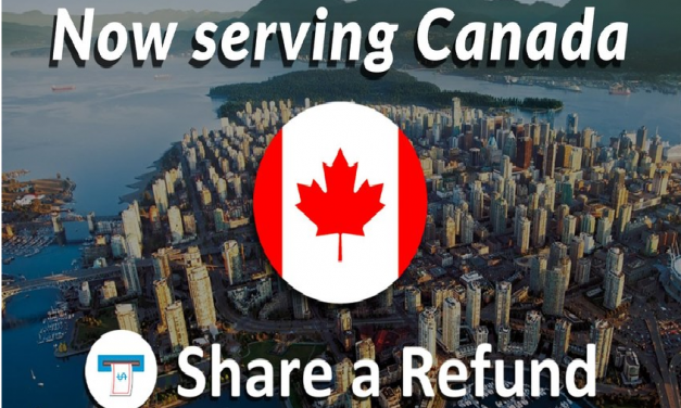Share a Refund expands to Canada