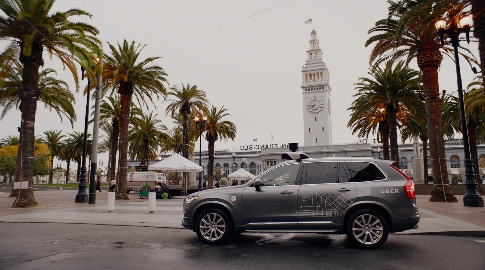Uber expands self-driving pilot to the streets of San Francisco