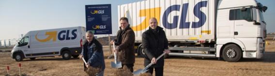 GLS breaks ground on new depot
