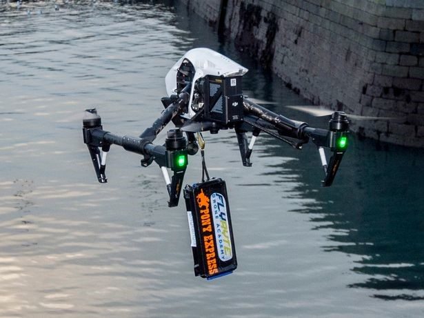Pony Express Couriers makes Ireland's first authorised drone delivery