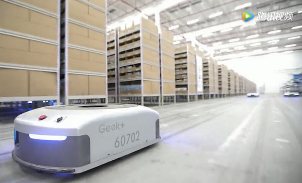 Chinese logistics robot maker secures new funding