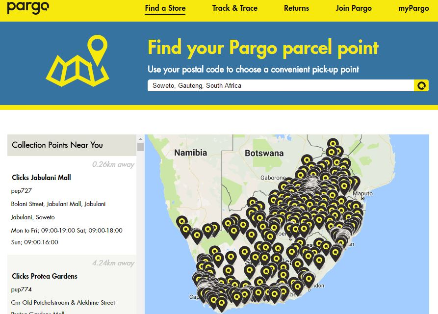 New funding for Pargo