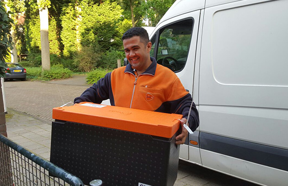 PostNL expands food delivery service