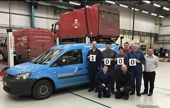 """Royal Mail reports """"excellent start"""" to fleet servicing initiative"""