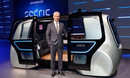 "VW unveils the ""Sedric"" self-driving car"