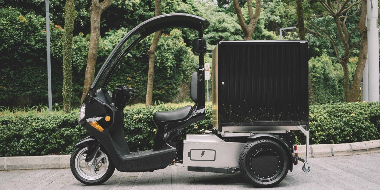 SingPost to road test three-wheel electric scooters this month