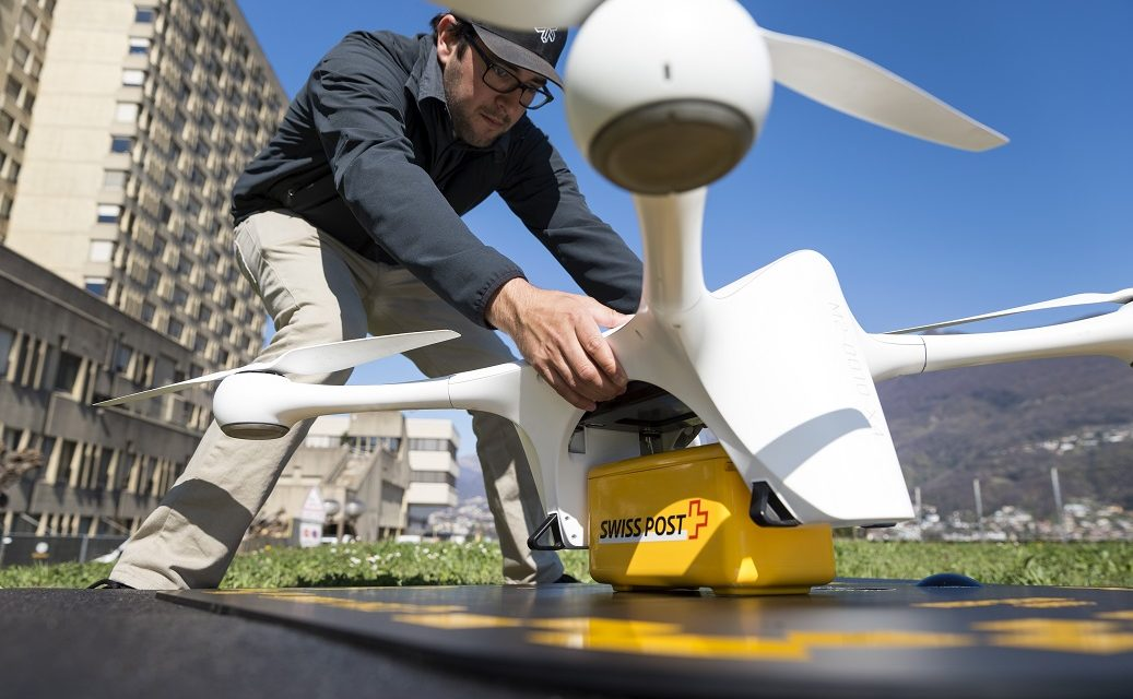 Swiss Post joins in funding round for drone delivery startup Matternet