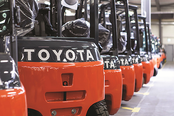 Toyota to buy Vanderlande