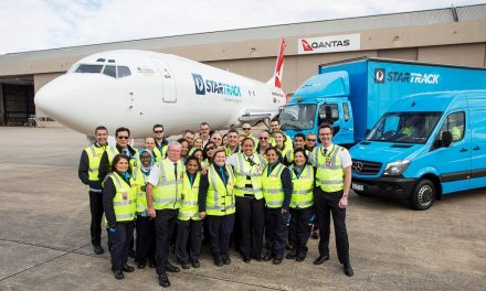 Australia Post and Qantas unveil new freighter for domestic air delivery network