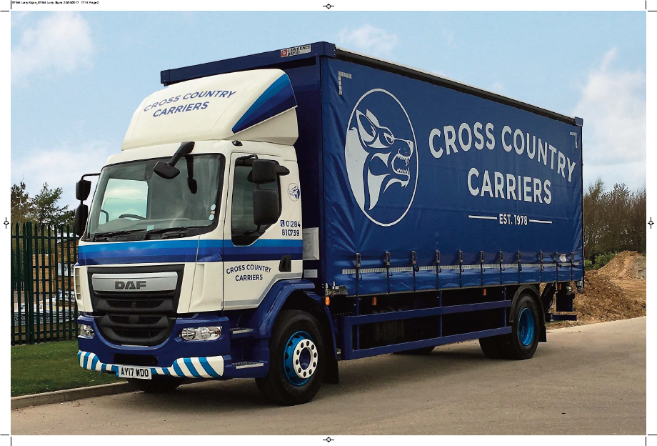 New trucks for Cross Country Carriers