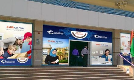 New, happy look for Emirates post offices