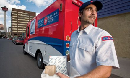 "Canada Post profits from ""solid growth"" in parcels"