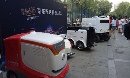 JD.com makes robot deliveries in Chinese universities