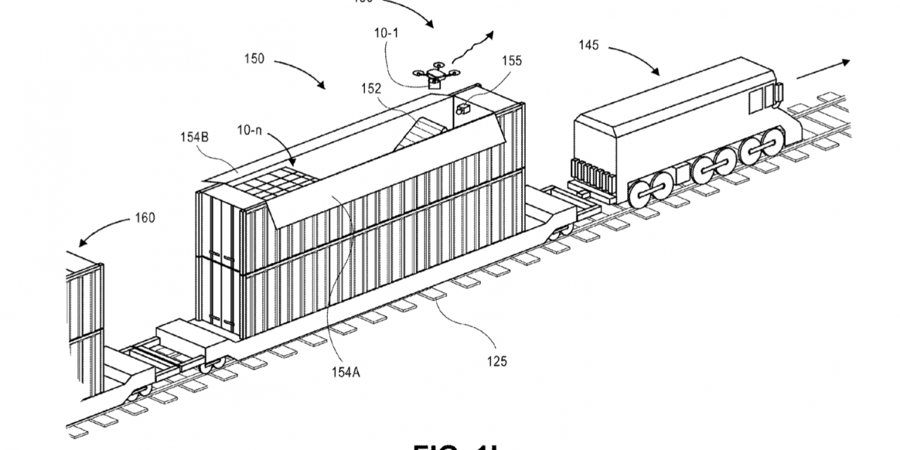 Amazon's multimodal mobile drone stations