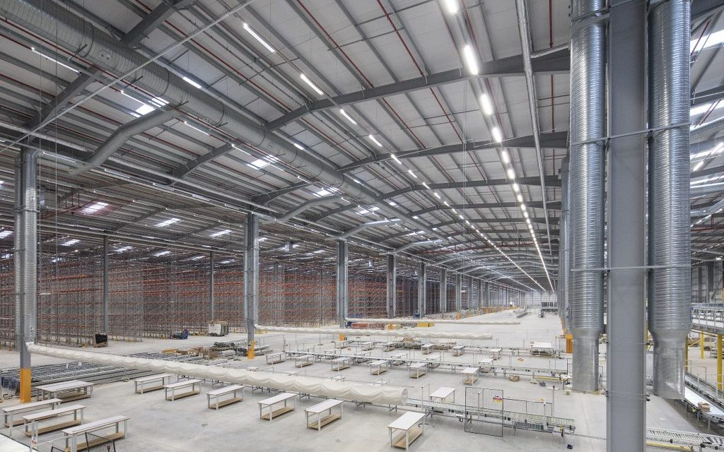Construction completed on Amazon's iPort facility