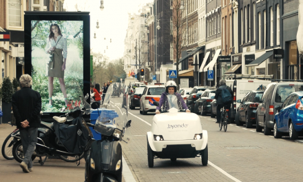 Amsterdam delivery service Byondo using TRIPL