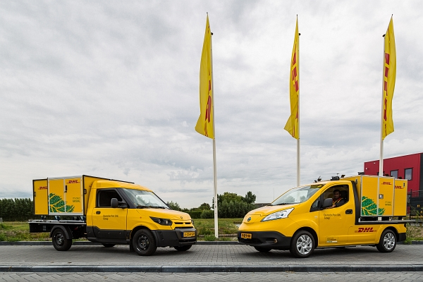 DHL expands 'City Hub' concept in the Netherlands