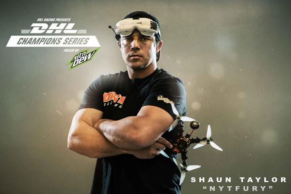 DHL sponsors drone racing series