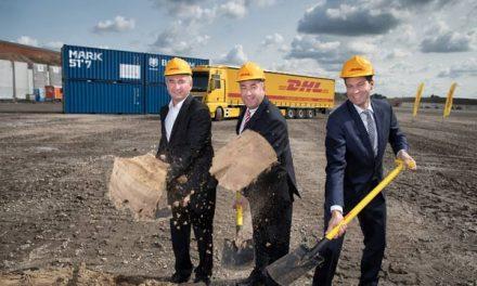"DHL breaks ground on ""mega"" parcel centre in Bochum"