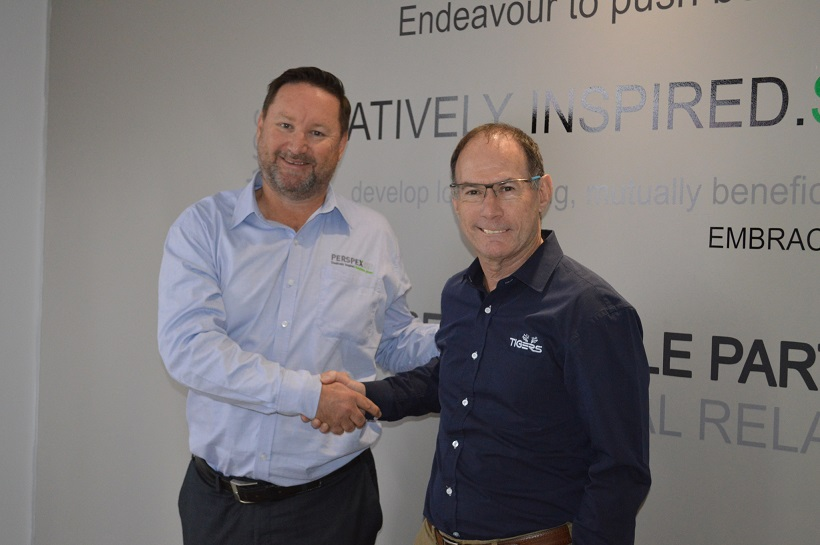 Perspex South Africa partners with Tigers