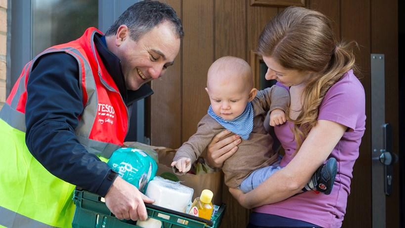 Tesco extending same day online delivery across UK