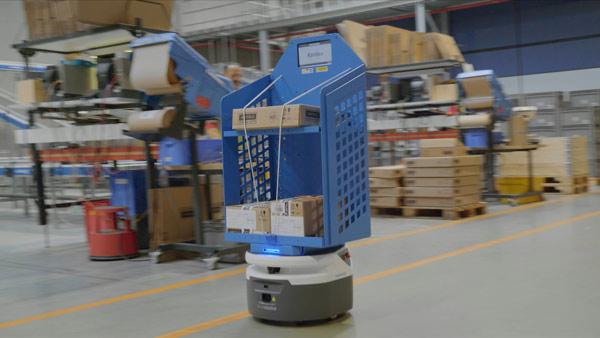 DHL and Wärtsilä complete robotics pilot in Netherlands warehouse