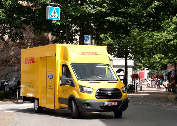 Deutsche Post DHL Group and Ford unveil new StreetScooter van