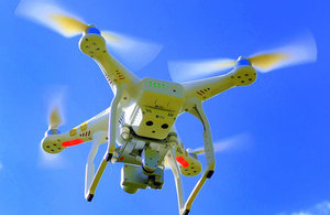 UK drones to be registered and users to sit safety tests
