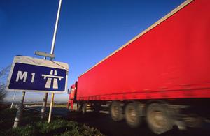 Truck platooning trials set to begin on UK major roads