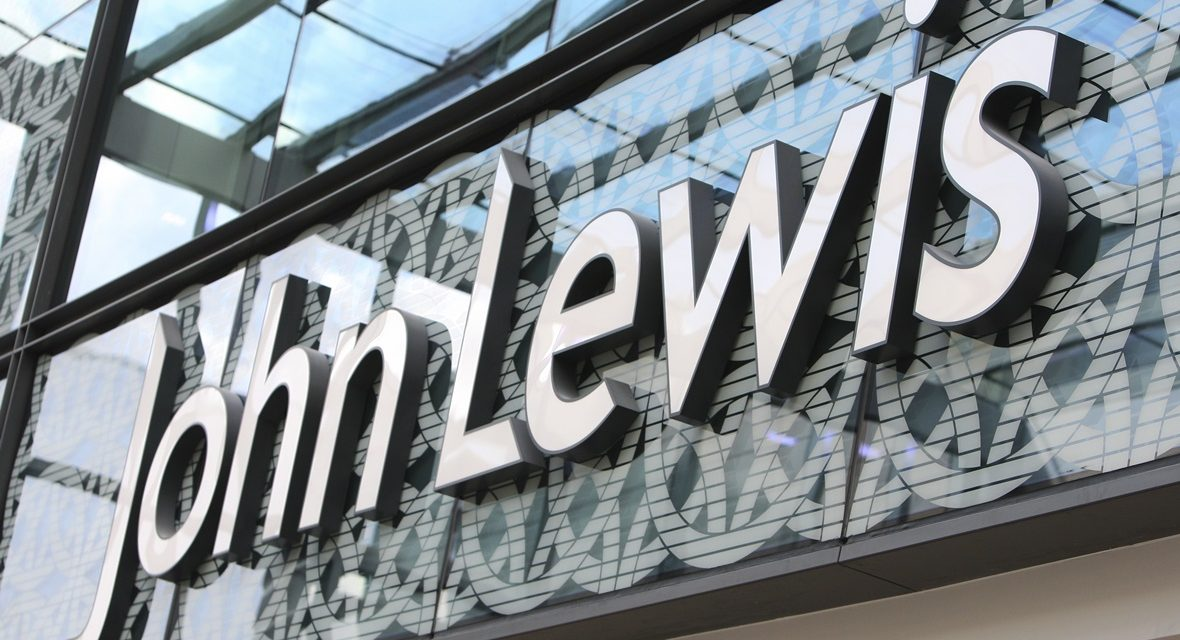 John Lewis Partnership reports increase sales, but drop in profits
