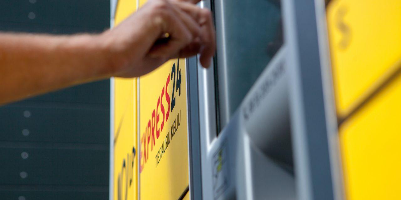 LP EXPRESS expanding parcel terminal network