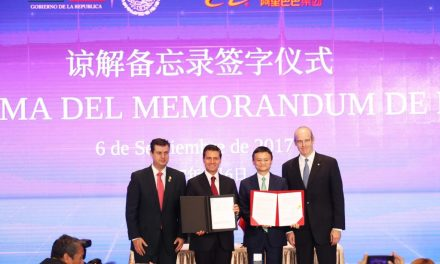 Mexico signs MoU with Alibaba
