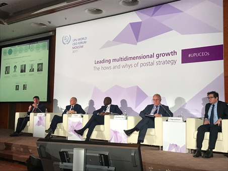 "UPU World CEO Forum develops ""clear vision for postal transformation"""
