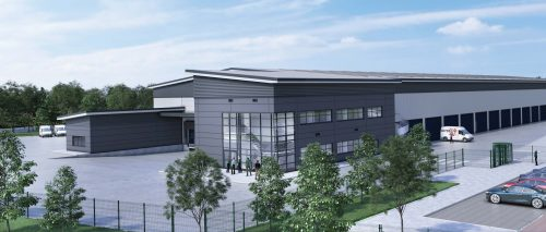 Construction begins on DPD facility in Nottingham