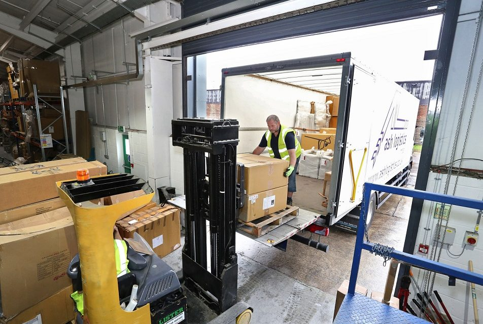 Ash Logistics using Maxoptra for home delivery service