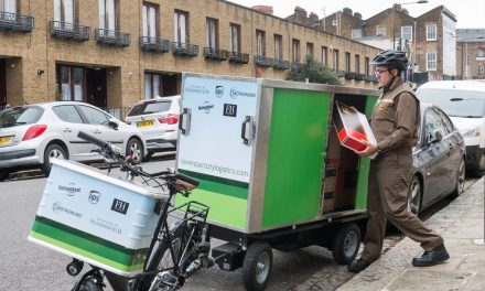 UPS testing power-assisted delivery trailers in London