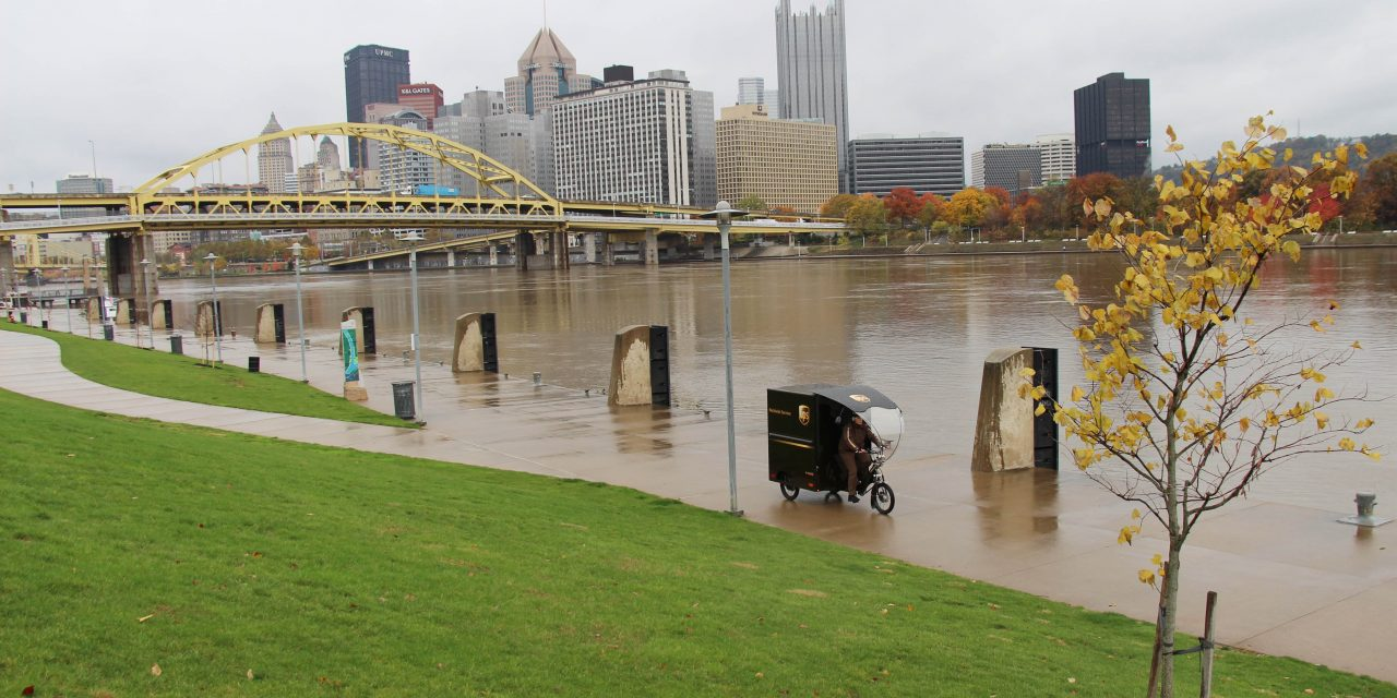 UPS launches eBike deliveries in Pittsburgh