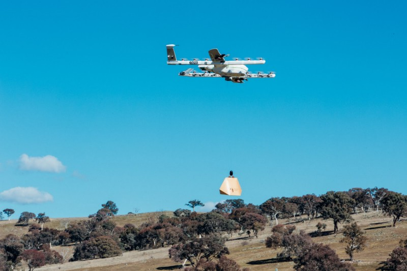 Alphabet's Project Wing testing delivery drones in rural Australia