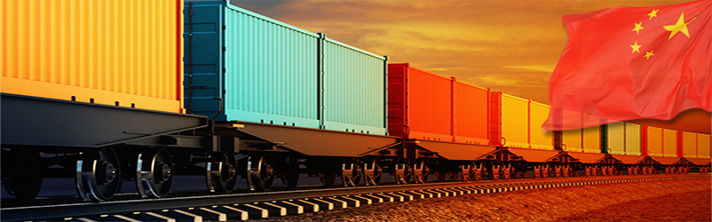 Smart container tracking service for New Silk Road shipments
