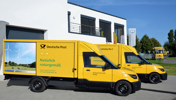 5,000 StreetScooters in service at Deutsche Post DHL Group