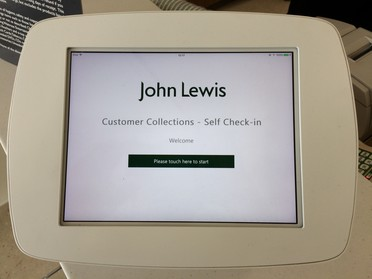 Waitrose launches self-service check-in for 'click and collect' orders