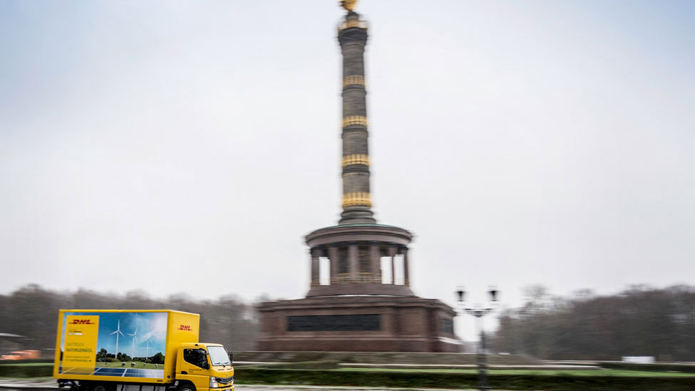 DHL Freight trialing electric trucks for deliveries in Berlin