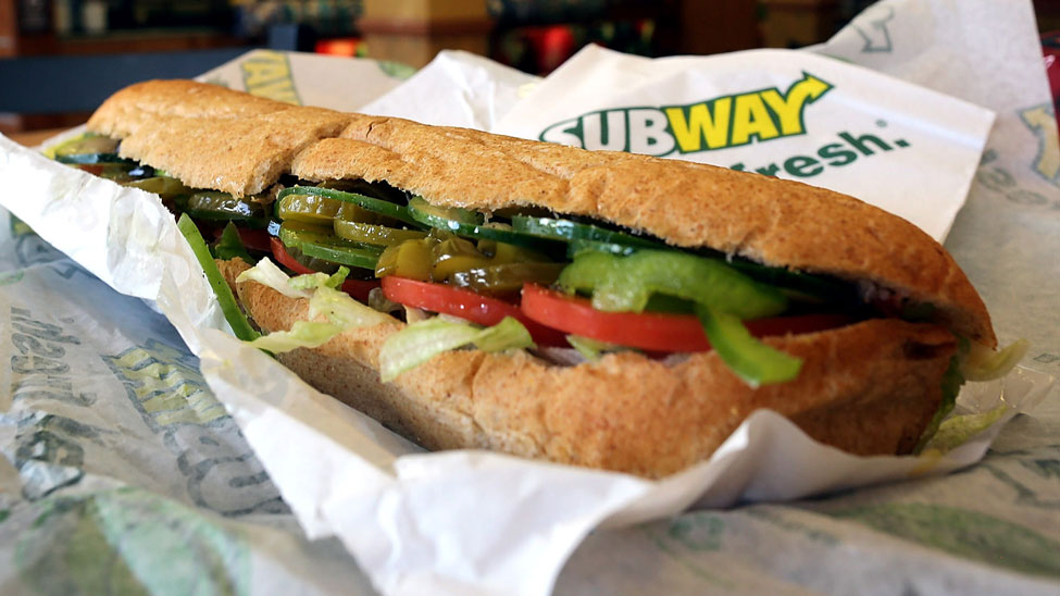 Subway Trialling Just Eat In London Leeds And Manchester