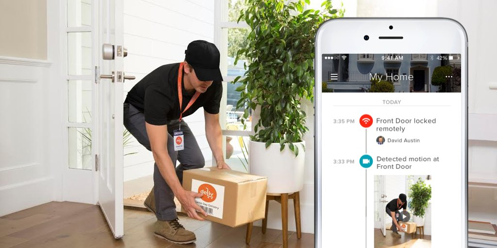 August Home partners with Deliv for home delivery solution
