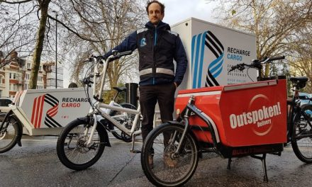 """""""Air pollution busting"""" cargo bike service launches in London's Square Mile"""