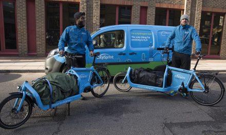CitySprint trialling hydrogen van in London