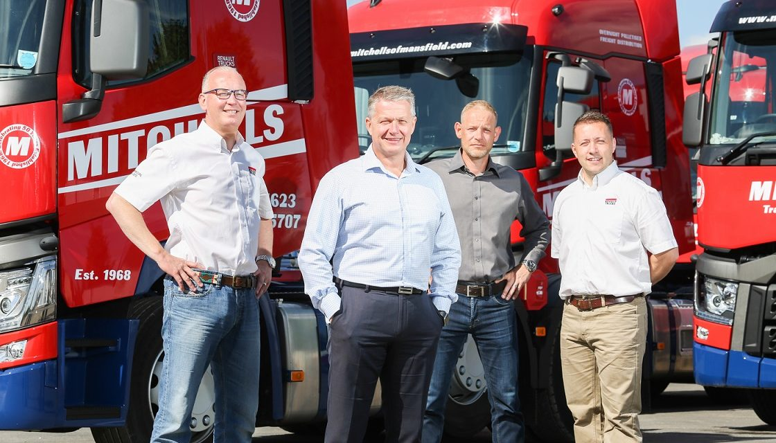 Fleet investment for Mansfield transport firm