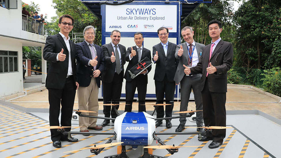 Airbus completes first flight demonstration for Skyways parcel delivery drone