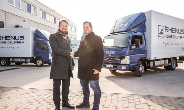 Rhenus takes delivery of Daimler electric trucks