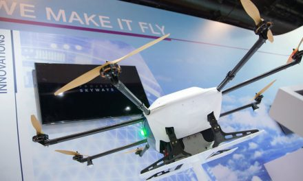 Drones on show in Singapore